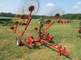 (5500) 8 Wheel Hay Rake