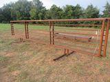 (5631) 24' Steel Gate
