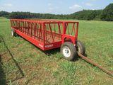 (5088) Industrias America Portable Hay Feeder