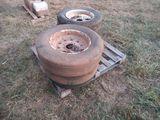 (5568) 6-- OF Bushhog Tires