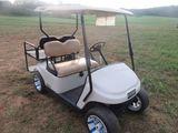 (5640) E-Z GO TXT 48 Golf Cart