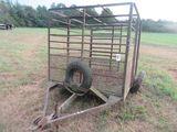 (5543) 6' x 8' Livestock Trailer