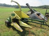 (5767) John Deere 38 Silage Chopper