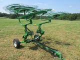 (5638) Frontier WR0008  8 Wheel Hay Rake