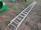 (5689) 40' Aluminum Extension Ladder