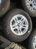 (5594) 2--ST205/75R15 Trailer Rims/Tires