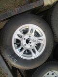 (5595) 2--ST205/75R15 Trailer Tires/Rims