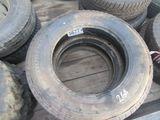 (5677) 2--225/70R19.5 Tires Onyx