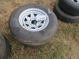 (5687) 2--205/75R14 Trailer Rims/Tires
