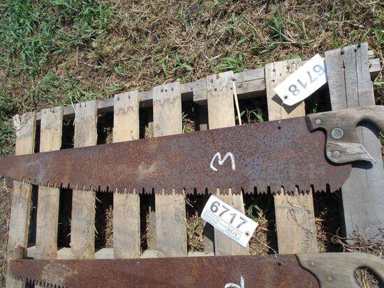 (6718) Cross Cut Saw