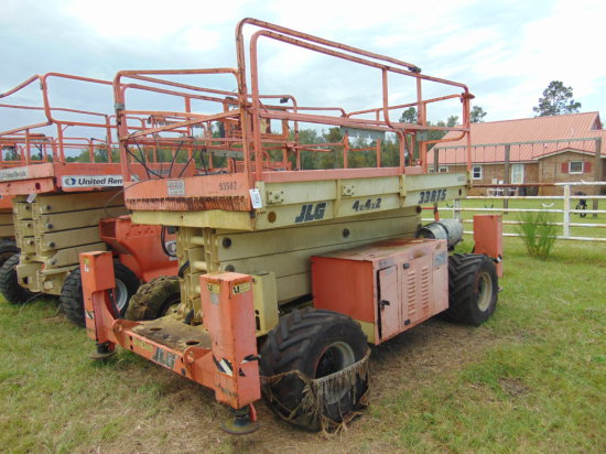 JLG 33RTS 4X4X2 ALL TERRAIN SCISSOR LIFT, | Heavy