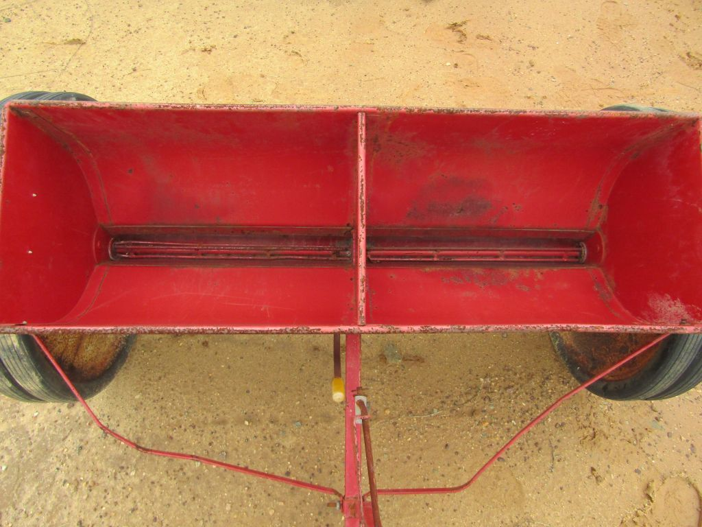 Lot: GANDY TURF TENDER SEEDER | Proxibid Auctions