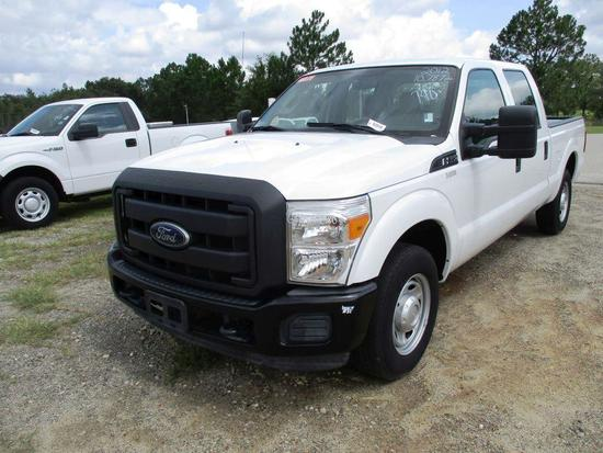 2012 FORD F-250 CREW CAB SUPER DUTY,