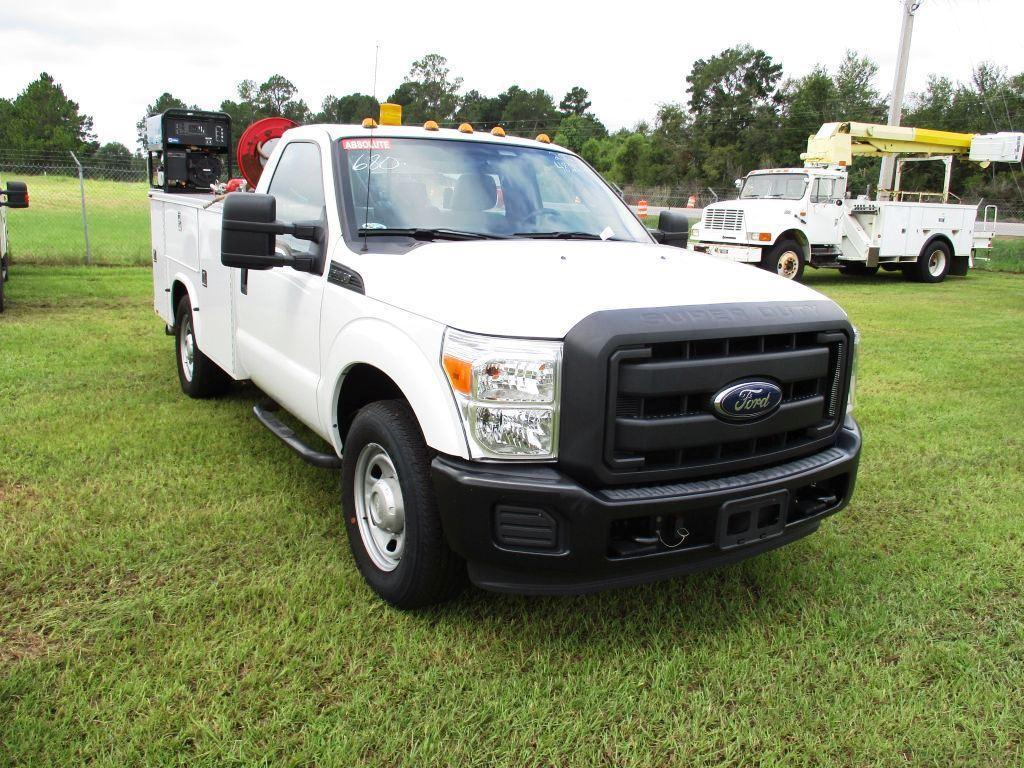2012 FORD F-350 SUPER DUTY TRUCK,