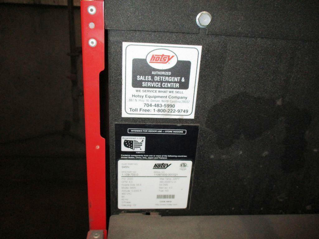 Lot: Hotsy Natural Gas Steam Genie, | Proxibid Auctions