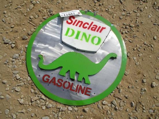 SINCLAIR GAS METAL SIGN