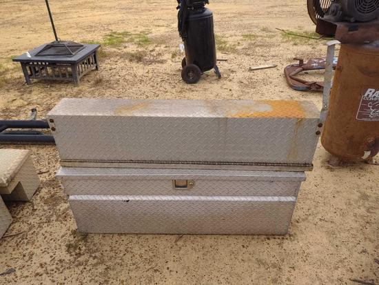 ABSOLUTE 1 SIDE MOUNT ALUM TOOL BOX AND