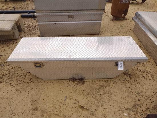 ABSOLUTE ALUM TOOL BOX FOR SMALL SIZE TRUCK BED
