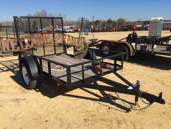 ABSOLUTE NEW 2020 5'X8' CARRY ON GATE TRAILER,