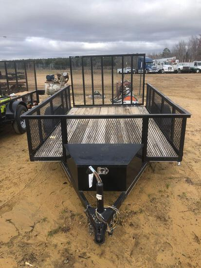 ABSOLUTE NEW CARRY ON 6'X10' GATE TRAILER,