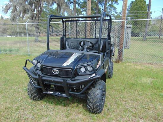 2019 KUBOTA SIDEKICK 4X4 ATV,