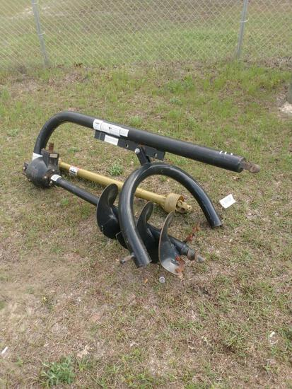 "3PT HITCH AUGER WITH 12"" BIT AND DRIVE SHAFT"