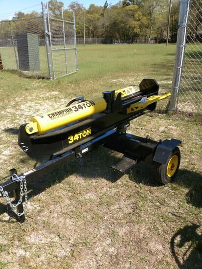 NEW CHAMPION 34 TON LOG SPLITTER