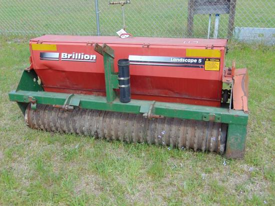 BRILLION LSP-5 LANDSCAPE SEEDER - PACKER