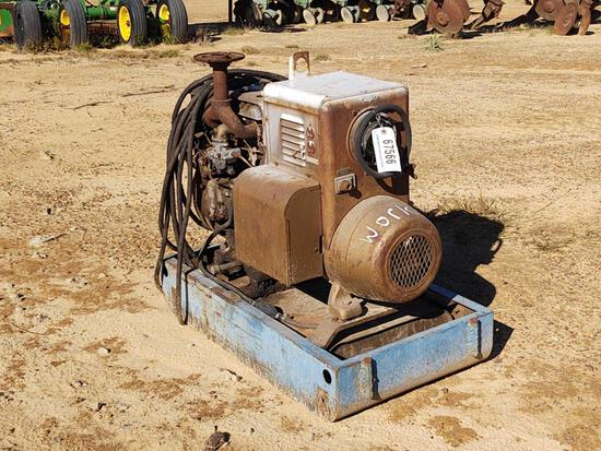 1127- HOBART GAS WELDER