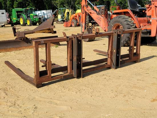3 PT HITCH DOUBLE HAY FORK