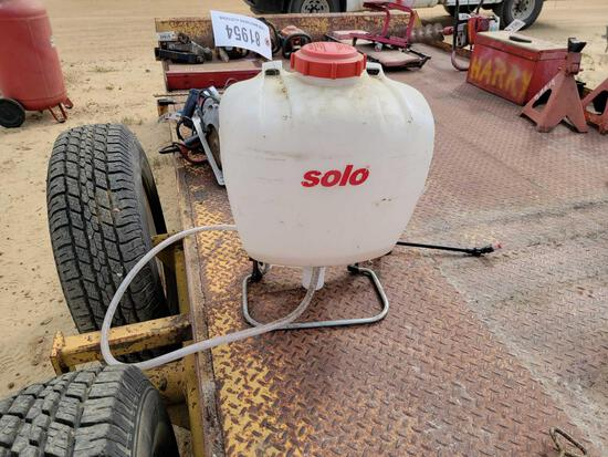 ABSOLUTE - SOLO BACK PACK SPRAYER