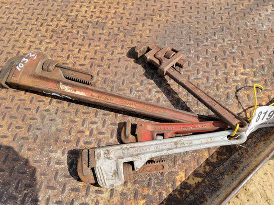 ABSOLUTE - 4 PIPE WRENCHES