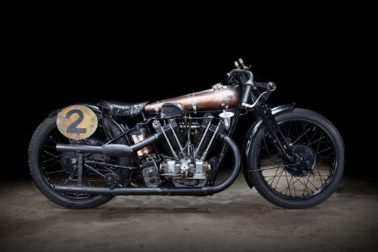 Brough Superior SS100 Pendine