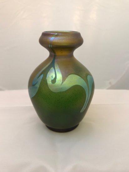 L.C.T. Tiffany Favrile Vase
