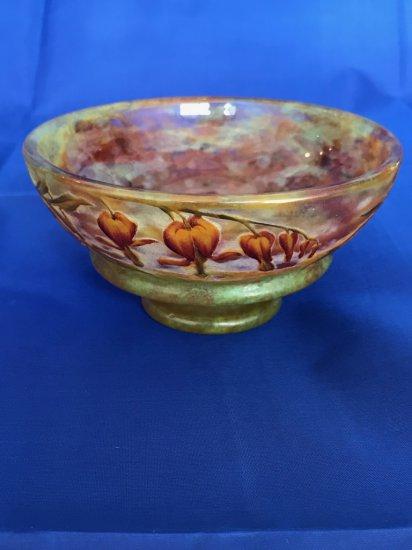 "Daum Nancy ""Bleeding Hearts"" small bowl"