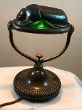 Tiffany Studios Scarab Desk Lamp