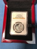 2013 1 oz Platinum coin, Isle of Man, Birth of Christ, NGC graded PF 69 Ultra Cameo, one of 1st 50