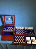 The John F Kennedy Uncirculated US Half Dollar Collection box set
