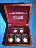 Complete Set of Denver Mint Peace Silver Dollars box set