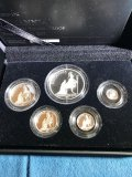 2013 Royal Mint Five-Coin Silver Proof First Strike Set
