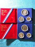 (2) 1976 US Bicentennial Silver Proof Sets