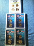 (5) Lost Coins Never Released for Circulation - Sacagawea dollar and Kennedy half dollar