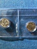 1942 & 1945 Jefferson silver nickels