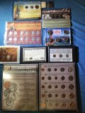 (7) miscellaneous coin collections
