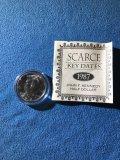 1987 - D Kennedy half dollar