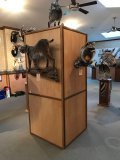 wood display box, trophies sold seperately