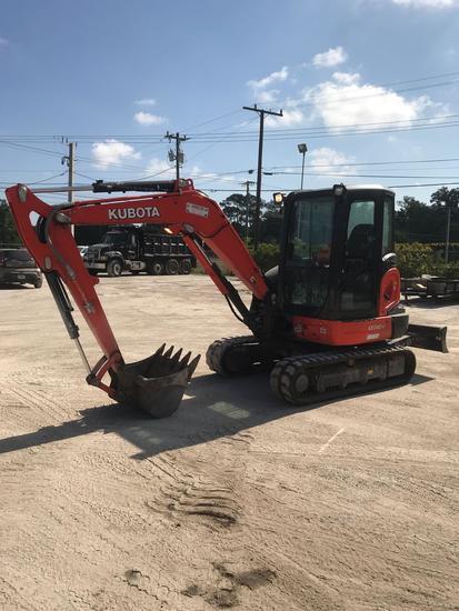 2018 Kubota KX040-4 Mini-Excavator