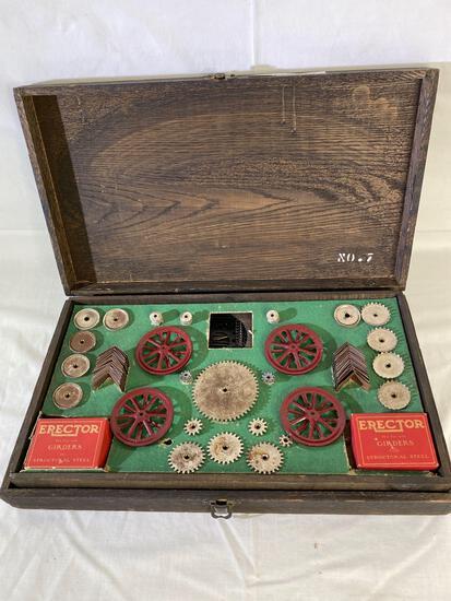 Gilbert Toys Erector Set No 7 circa 1920s