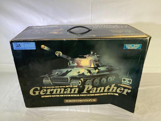 Heng Long 1:16 scale German Panther radio controlled tank