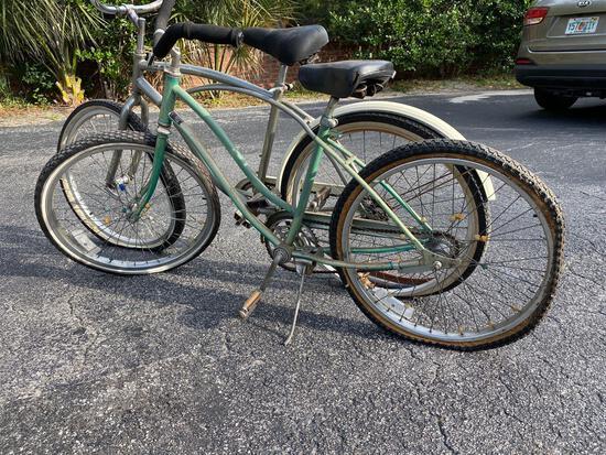 Huffy boy's & Murray girl's single speed bicycles